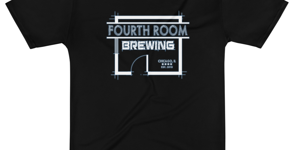 Fourth Room Brewing Logo Poly Tee