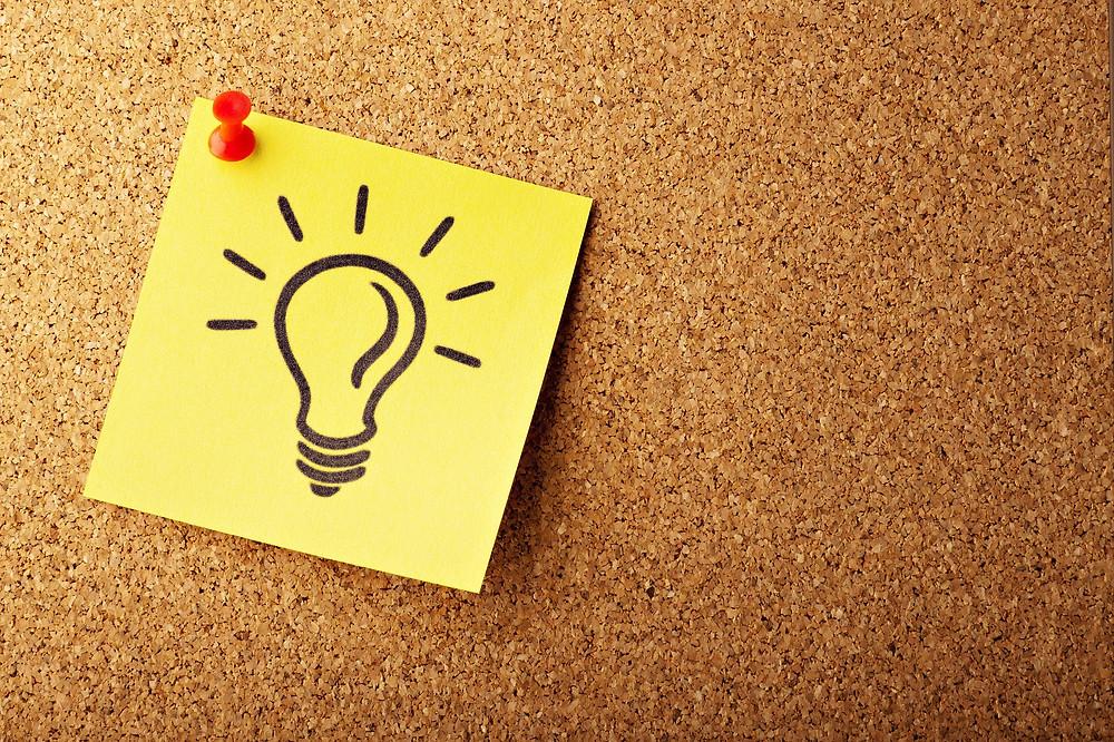 Идея вдохновение лампочка мысль