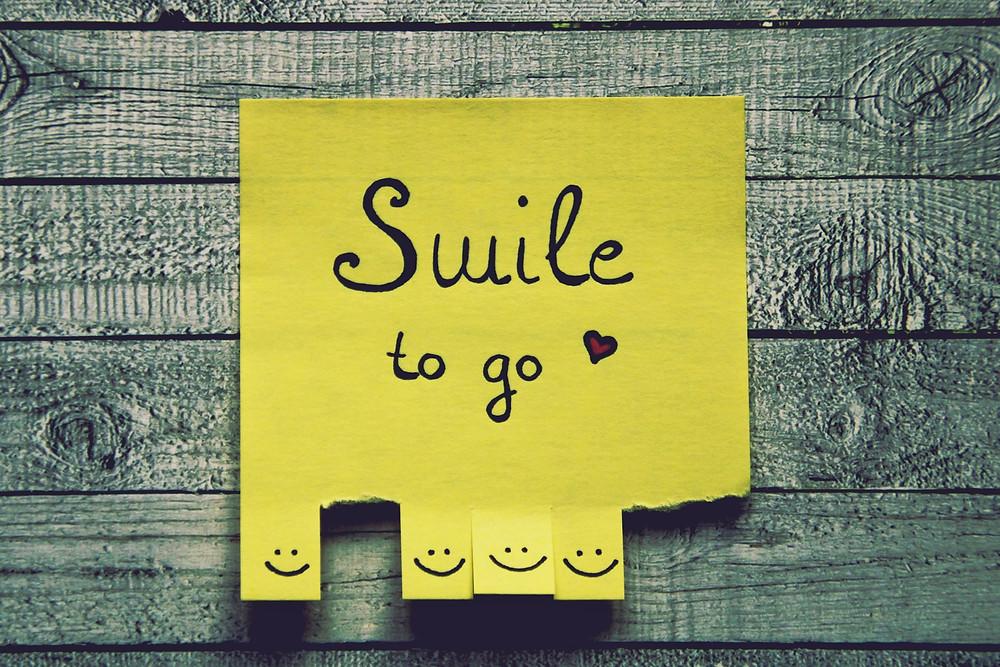 Идея вдохновение мысль улыбка smile to go