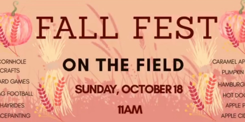 Fall Fest on the Field