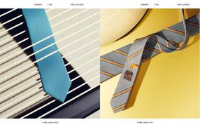 Lookbook Hermès cravates PE18