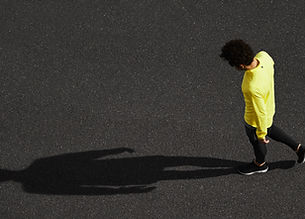 Runner & sombra