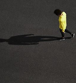 Runner y sombra