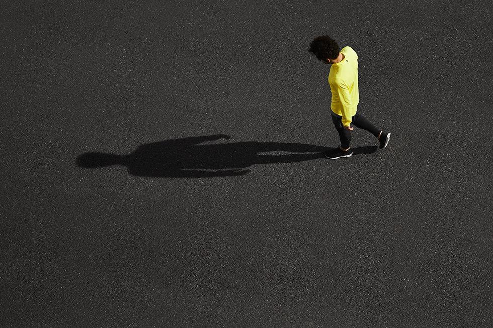 Runner et ombre