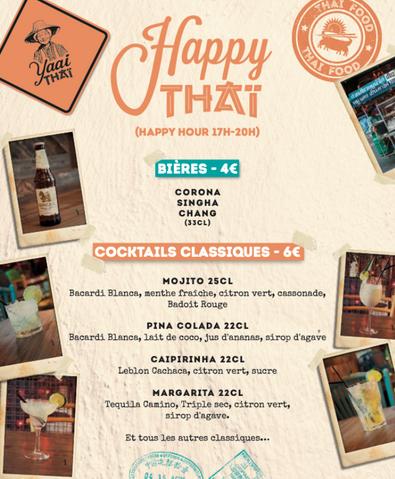 Happy Hour Yaai Thaï
