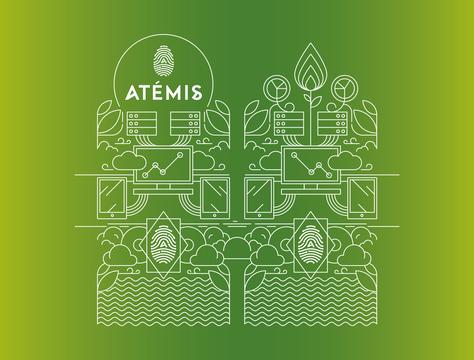 Illustration bouteille ATEMIS