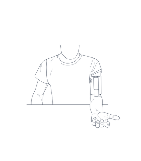 Illustration bras BPM Withings