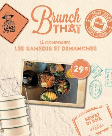 Brunch Yaai Thaï