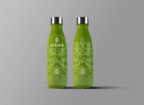 Simulation bouteille ATEMIS