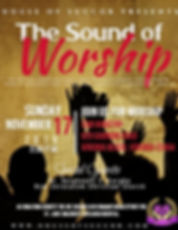 The Sound of Worship - Made with PosterM