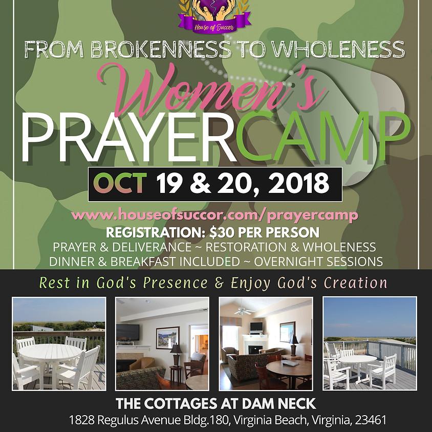 Women's Prayer Camp 2018