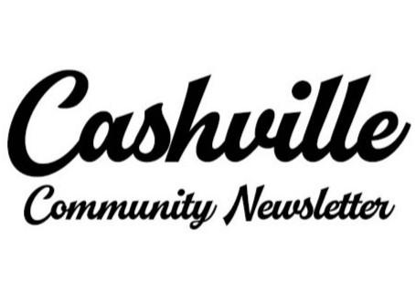 Cashville Community Letter