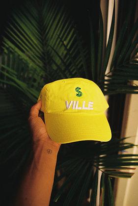 """Golden Hour"" $VILLE Dad Hat"