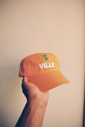 """Sunset"" $VILLE Dad Hat"