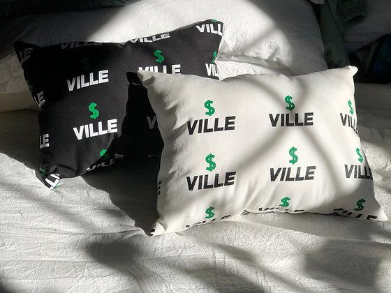 $VILLE Pillows