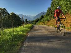 cycling col du Spandelle