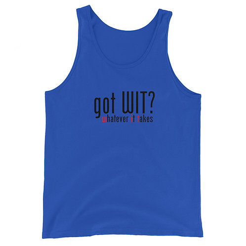 got WIT? Tank Top