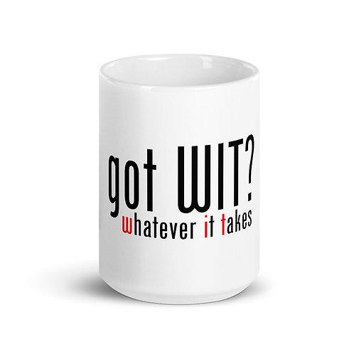 got WIT? Mug