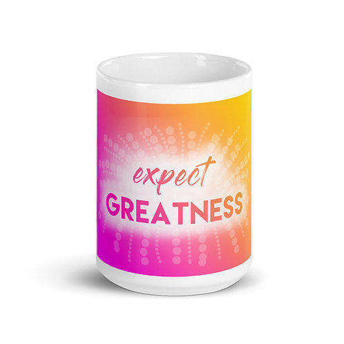 Expect Greatness Mug