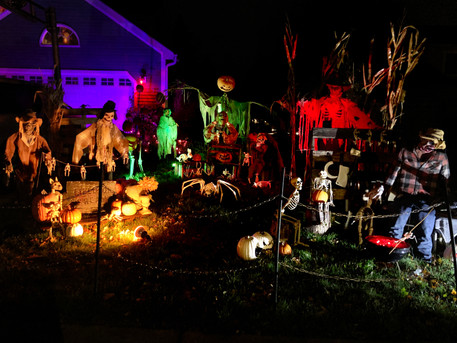 703 & 716 Muirhead Ct: Spooktacular House(s) of the Day!