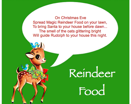 Easy DIY Reindeer Food!
