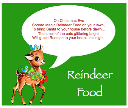 Easy DIY Reindeer Food!