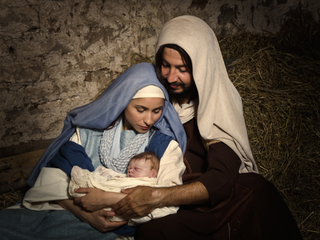 A Drive Thru Living Nativity