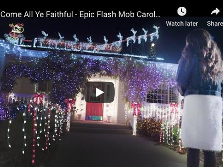 Christmas Flash Mob