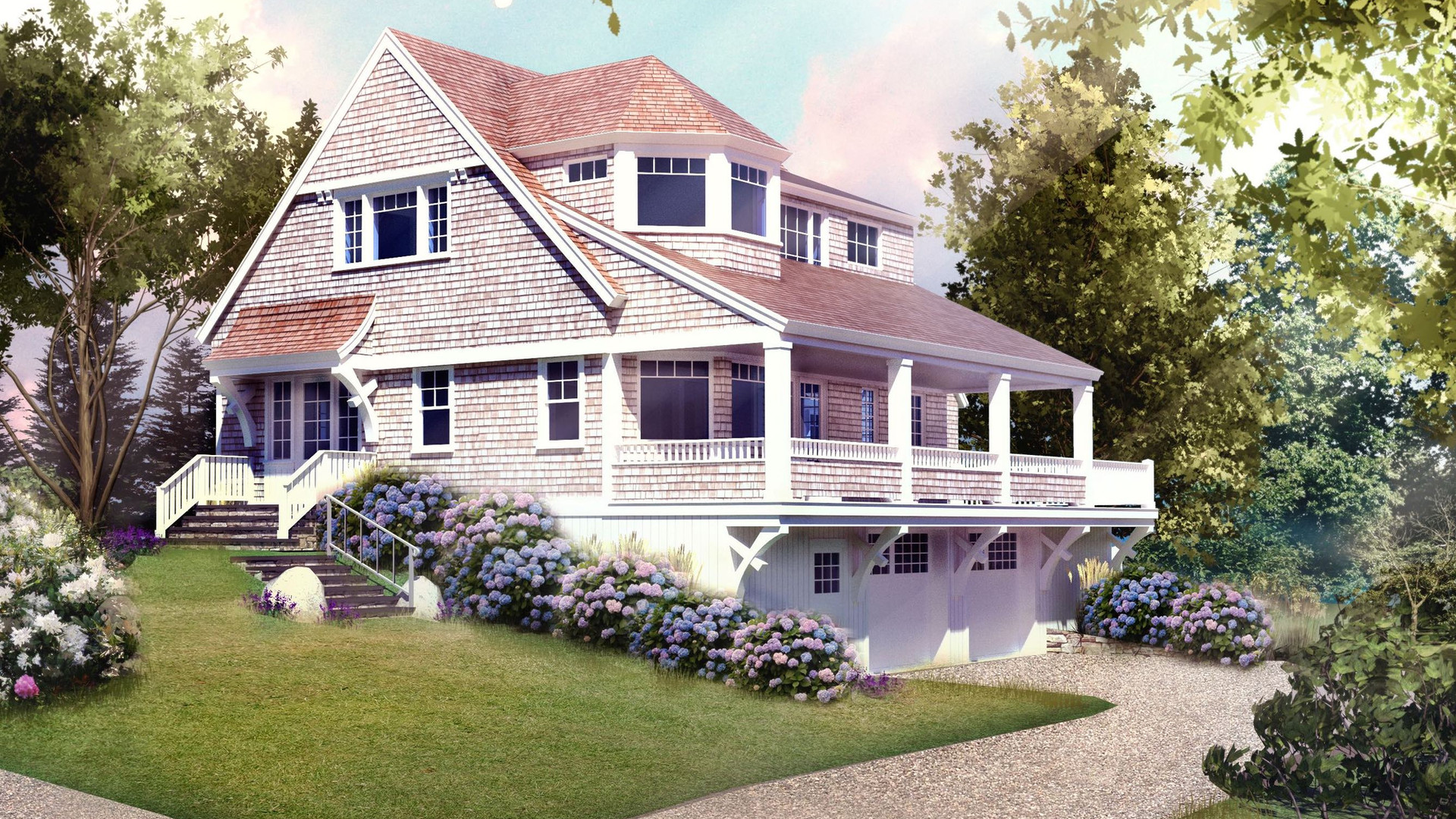 Digital Rendering of The Cottage