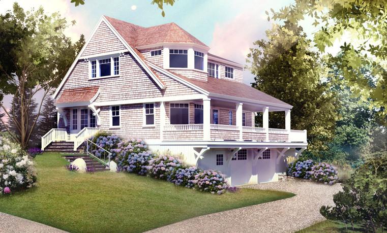 Digital Rendering of The Cottage