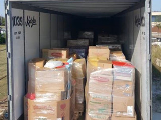 Kutzler Express sends second Donation load to Houston