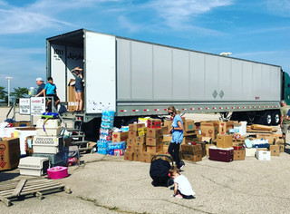 Kutzler Express sends first Donation load to Houston