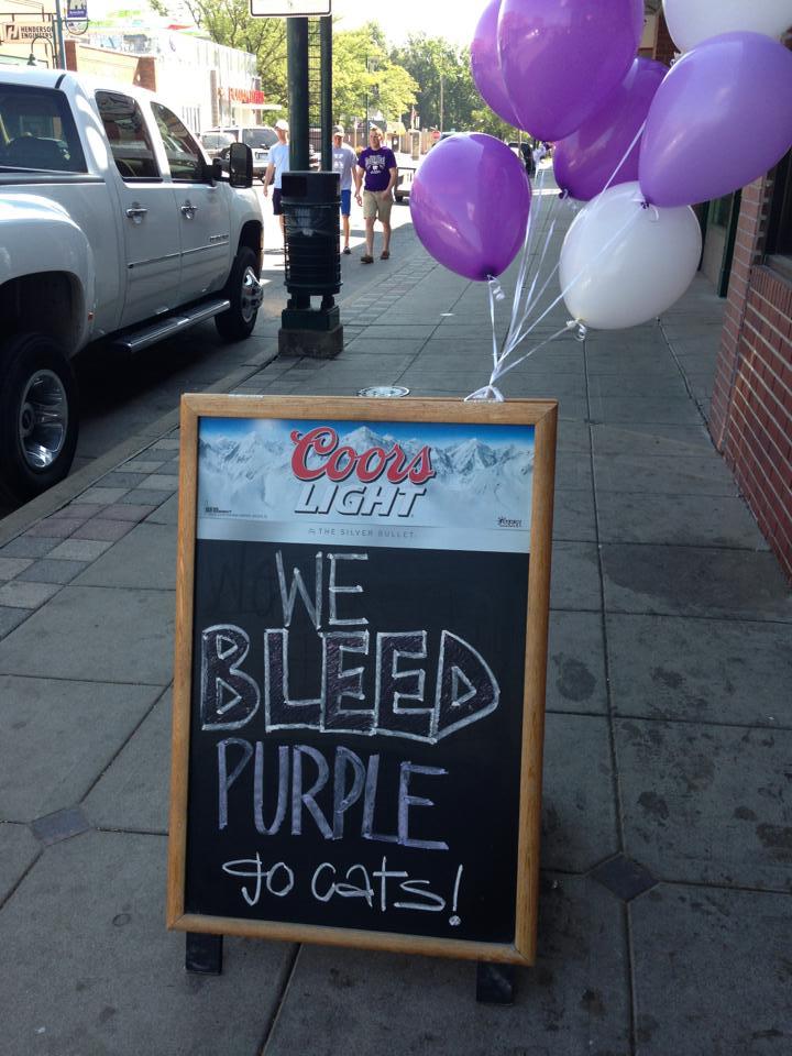 We Bleed Purple