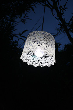 LACY LAMPSHADE