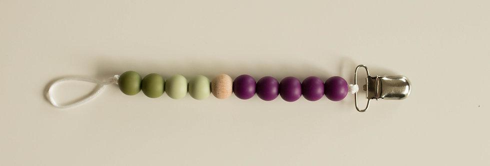 Pacifier Clip | Autumn Olive
