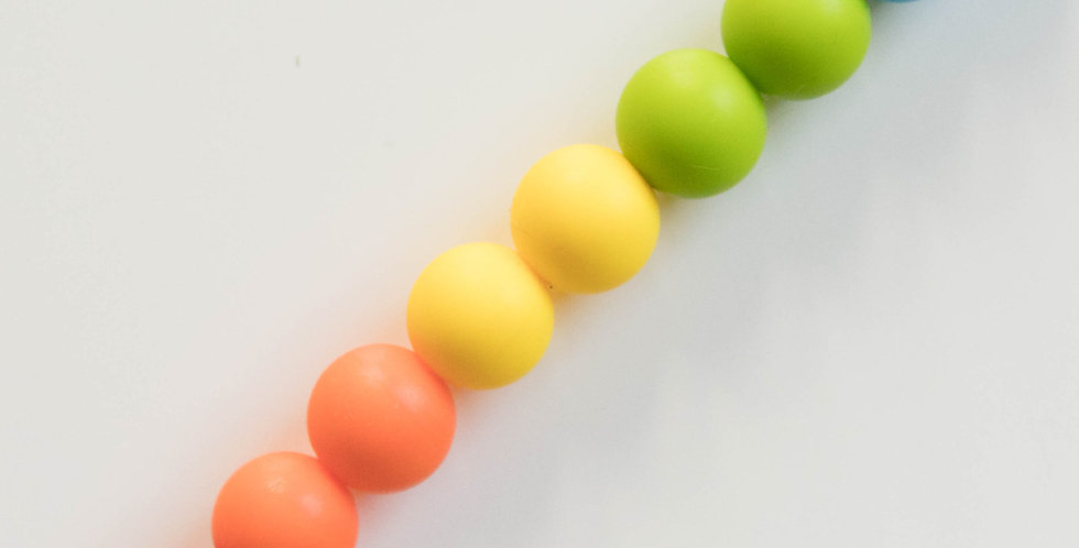 Pacifier Clip   Rainbow 5