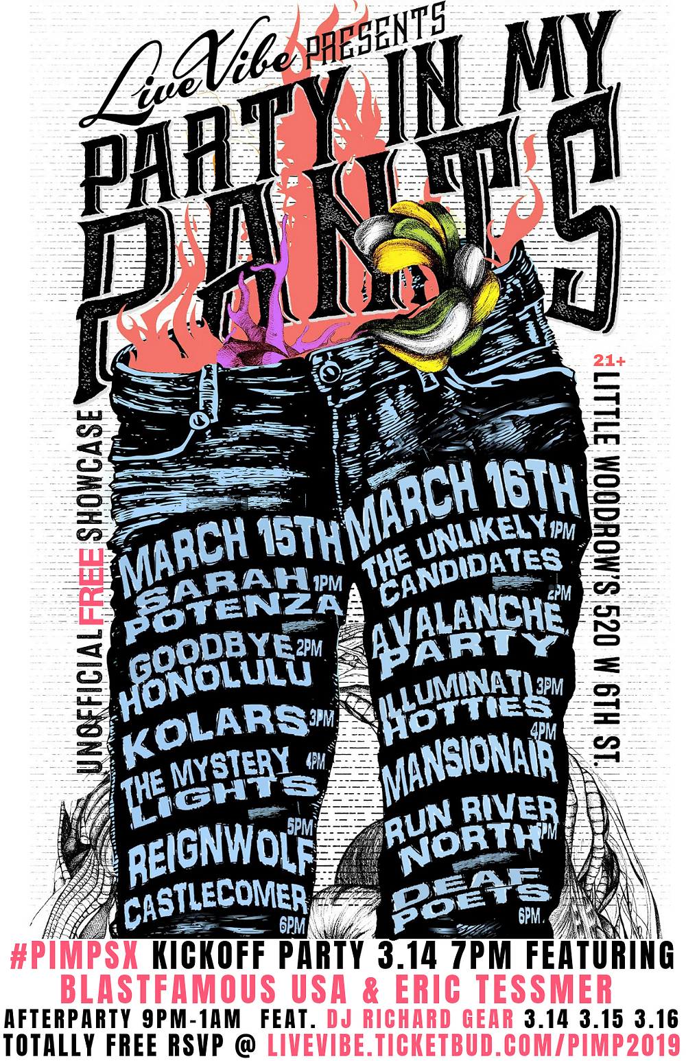 PARTY IN MY PANTS 2019
