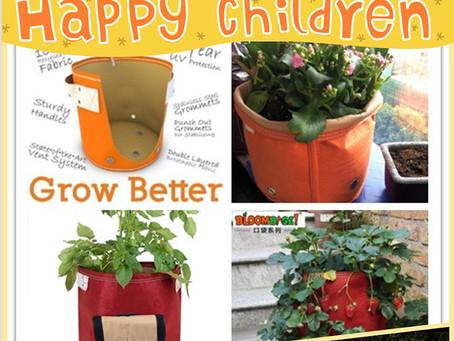Kid Garden Planting Joy