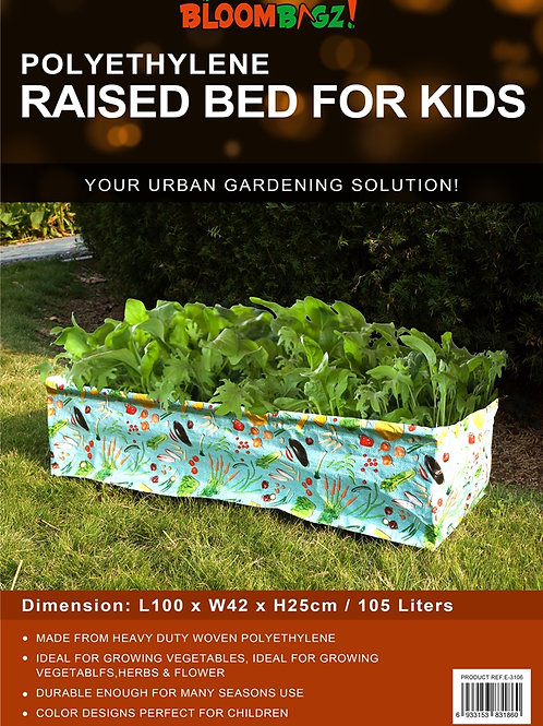 Vegetable Planter Raised Bed for Kids-105L