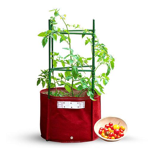 Tomato Planter Grow Bag With Removable Stake