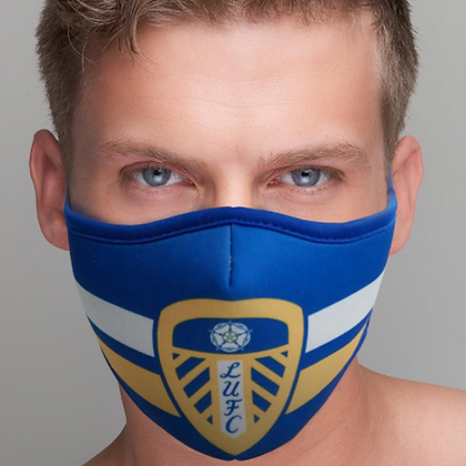Leeds United Facemask Facecovers Scarf High Quality