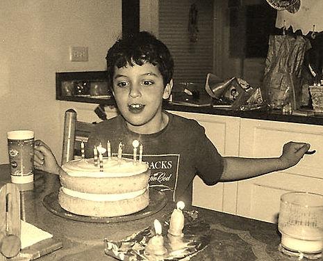 Happy 7th birthday Eitan!