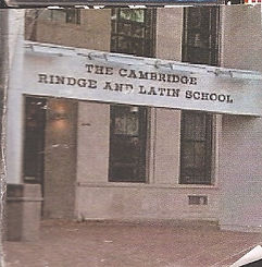 Cambridge Rindge and Latin School, Eitan's high school