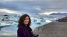 Glacial lake, Iceland, photo by Joyce D. Stern