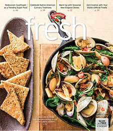 the most recent issue of fresh that I edited