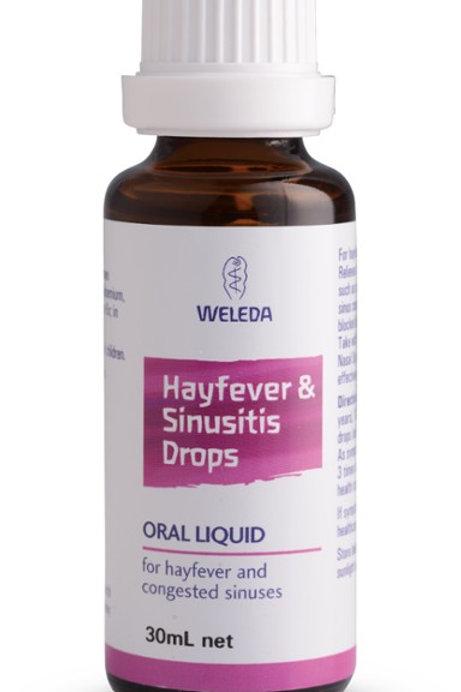 Weleda Hayfever & Sinitus Drops 30ml