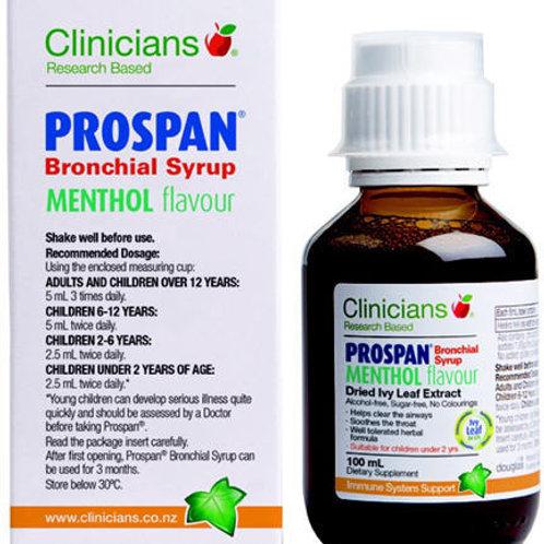 Clinicians Prospan Bronchial Syrup Menthol Flavour 100ml