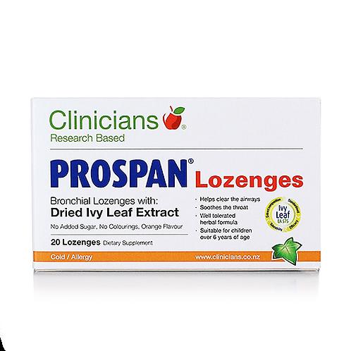Clinicians Prospan Bronchial Lozenges 20pk