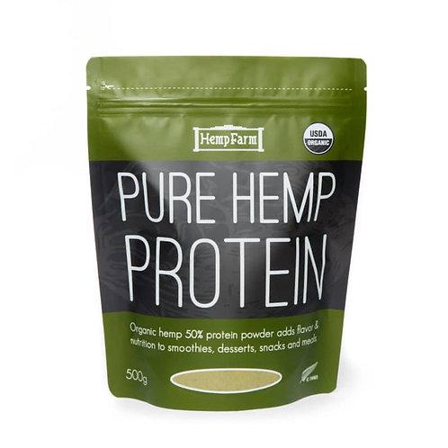 Organic Hemp 50% Protein Powder (500g)