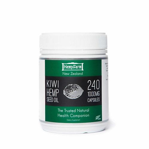 Kiwi Hemp Farm Hemp Seed Oil Capsules